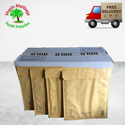 Featherpost E2 (240x275mm) Large Letter Padded Envelope Bubble Mailers Qty 100