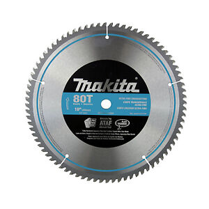 Makita a 93681 10 inch 80t fine crosscutting carbide tip for 10 inch table saw blades