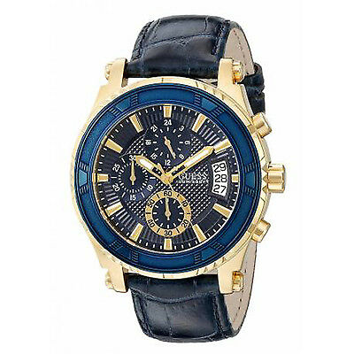 GUESS MEN'S CHRONOGRAPH WITH DATE STAINLESS  WATCH, U0673G2 NEW. GREAT GIFT