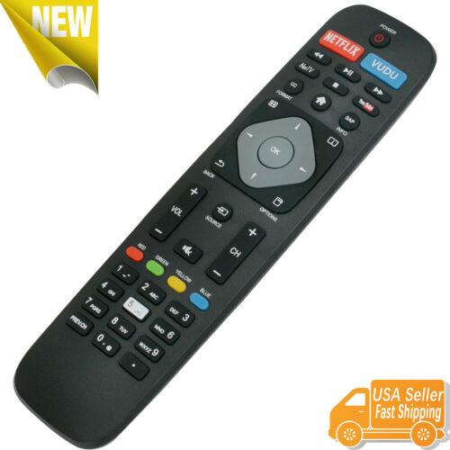 New NH500UP Remote Control for Philips 4K Smart TV 55PFL5602 43PFL4902 65PFL6902