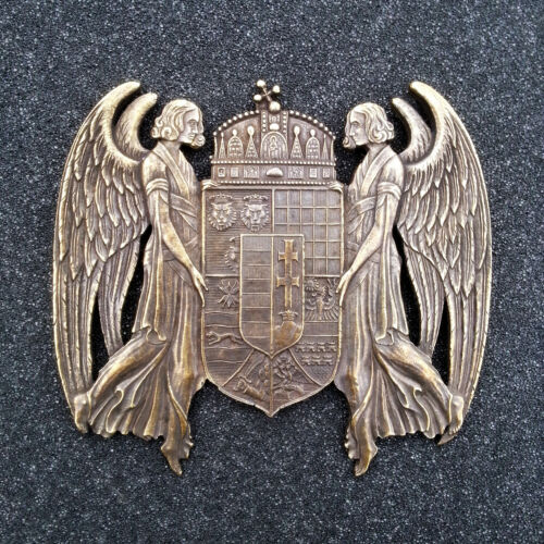 1915 Coat of arms of the Kingdom of Hungary Plaque