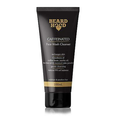 Best Beardhood Caffeinated Face Wash Cleanser for Men Brown