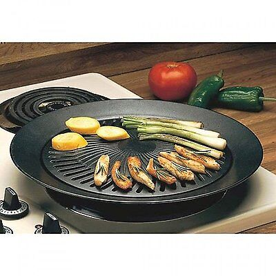 (Hibachi Cast Iron Stovetop Grill Griddle Pans Top Indoor Accessories For Stove)
