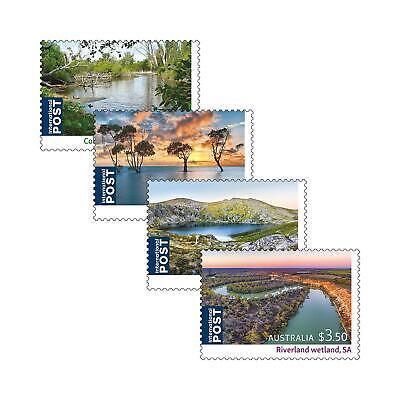 AUSTRALIE - Ramsar Wetlands 2021 - Stamps + Maxicards + FDC