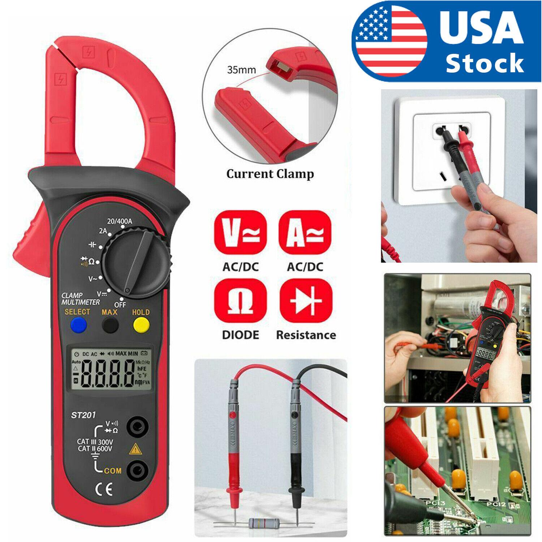 Digital LCD Multimeter AC DC Voltmeter Ammeter Ohmmeter Volt Tester Diodes Meter Business & Industrial