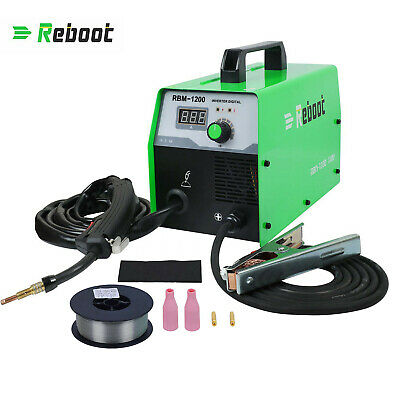 Mig Welder Flux Core Wire Dc 120v Gasless Inverter Mag Mig Arc Welding Machine