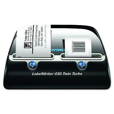 Dymo Label Writer 450 Twin Turbo Label Printer71 Labels Per Minuteblacksilver