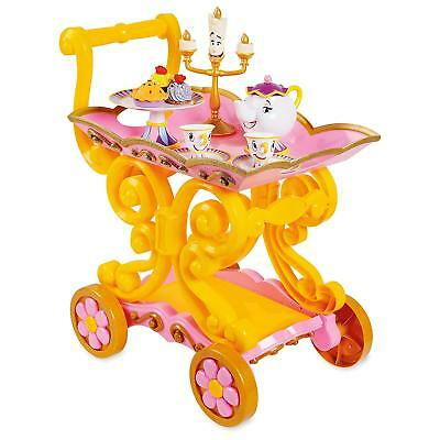 Disney Beauty and The Beast ''Be Our Guest'' Singing Tea Car