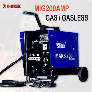 New MARS 200Amp MIG/MAG Welder  GAS & GASLESS