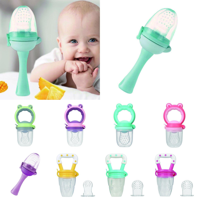 Babynahrung Nibbles Abstillen Nahrung Schnuller Frische Frucht Saugflasche