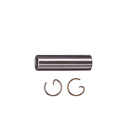 Spare Piston Pin with Retaining Ring G 2 pcs. 21 nitro motor Force Engine - Piston Pin Engine Retaining Ring