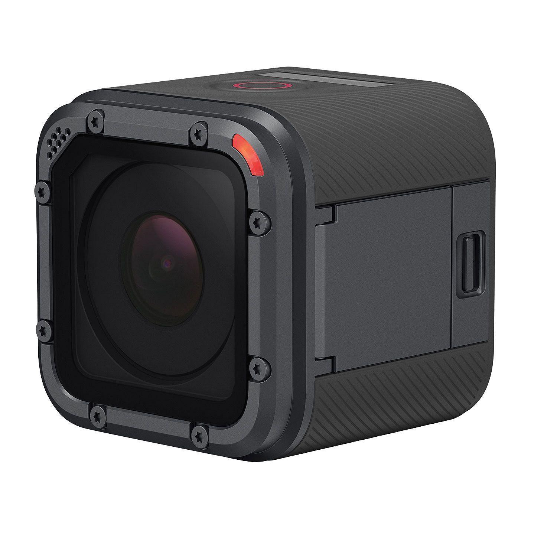 GoPro HERO5 Session Waterproof 4K Action Camera Bundle w/ Head Strap, QuickClip