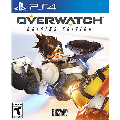 Overwatch  Origins Edition Ps4  Factory Refurbished