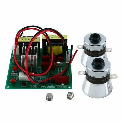 110v Cleaner Power Driver Board2pcs 50w Ultrasonic Cleaning Transducer Us Stock