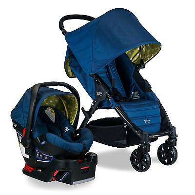Britax Pathway Stroller & B-Safe 35 Car Seat Travel System in Connect! New!