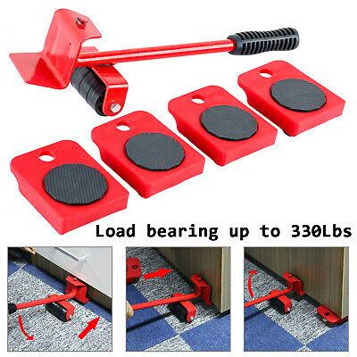 Homend Furniture Lifter Wheel Kit w/ Slider Mover Pads Home Moving System Set