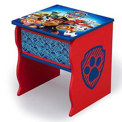 Kids Side Night Table Storage Desk Paw Patrol Frozen Child Furniture Bedroom New Bedroom Furniture Night Table