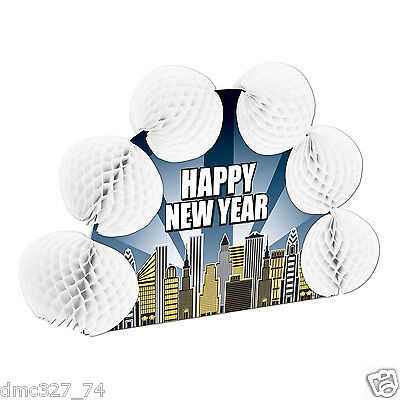 Happy New Year Eve (NEW YEAR'S EVE Party Decoration Happy New Year CITY SKYLINE Pop Over)