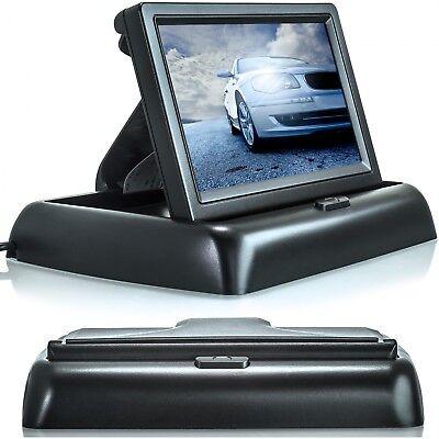 4,3 LCD Auto Monitor für Rückfahrkamera klappbar TFT Display Bildschirm LKW KFZ