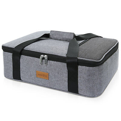 Lifewit Insulated Casserole Dish Carrier Lunch Tote Bag Hot Cold Food Storage ()