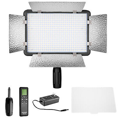 Neewer LED 500 High Power Dimmable Video Light with LCD Panel for Canon Nikon