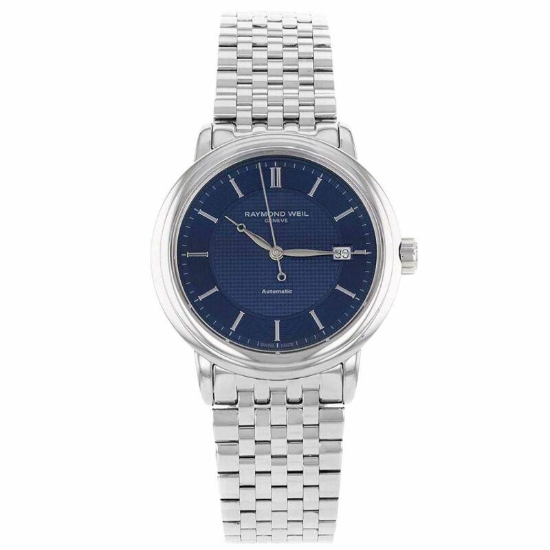 Raymond Weil 2837-ST-50001 Men Freelancer Blue Automatic Watch