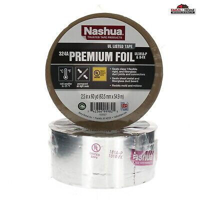 2 Rolls Aluminum Foil Duct Tape Sealant New Fast Shipping
