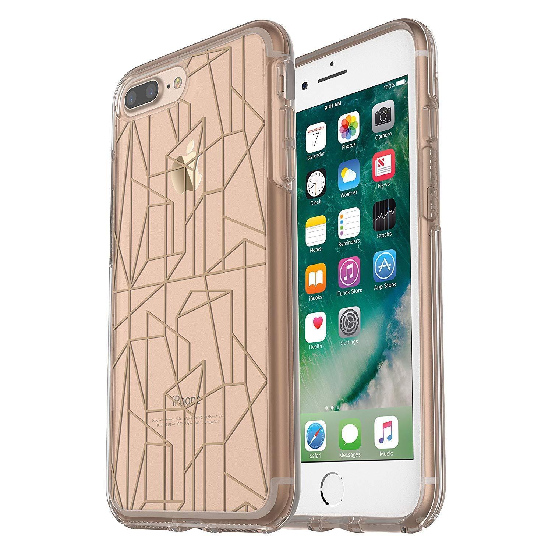 OtterBox Symmetry Clear Case for iPhone 8 Plus & iPhone 7 Plus (Drop Me a Line)