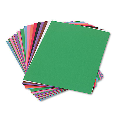 Sunworks Construction Paper 58 lbs. 9 x 12 Assorted 50 Sheets/Pack 6503