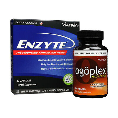Enzyte® + Ogoplex® | Male Enhancement + Prostate Health Supplement -1 month - Enzyte Male Enhancement