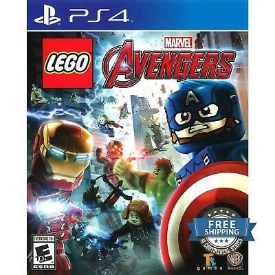 LEGO Marvel's Avengers - PlayStation 4 Video Games Kids PS4 Games ORIGINAL NEW