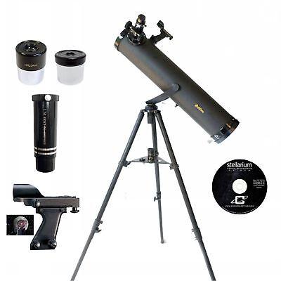 Galileo 800x95mm Astronomical Spyglass Kit,Black Granite G-80095BG
