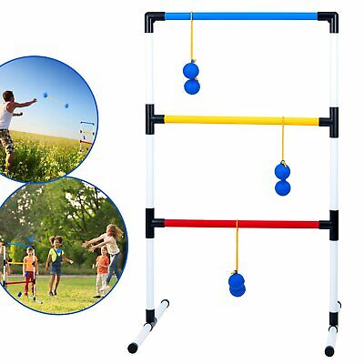 One Piece Ladder Ball Game Set Indoor and Outdoor Toss Games for Adults and Kids](Adult Outdoor Games)