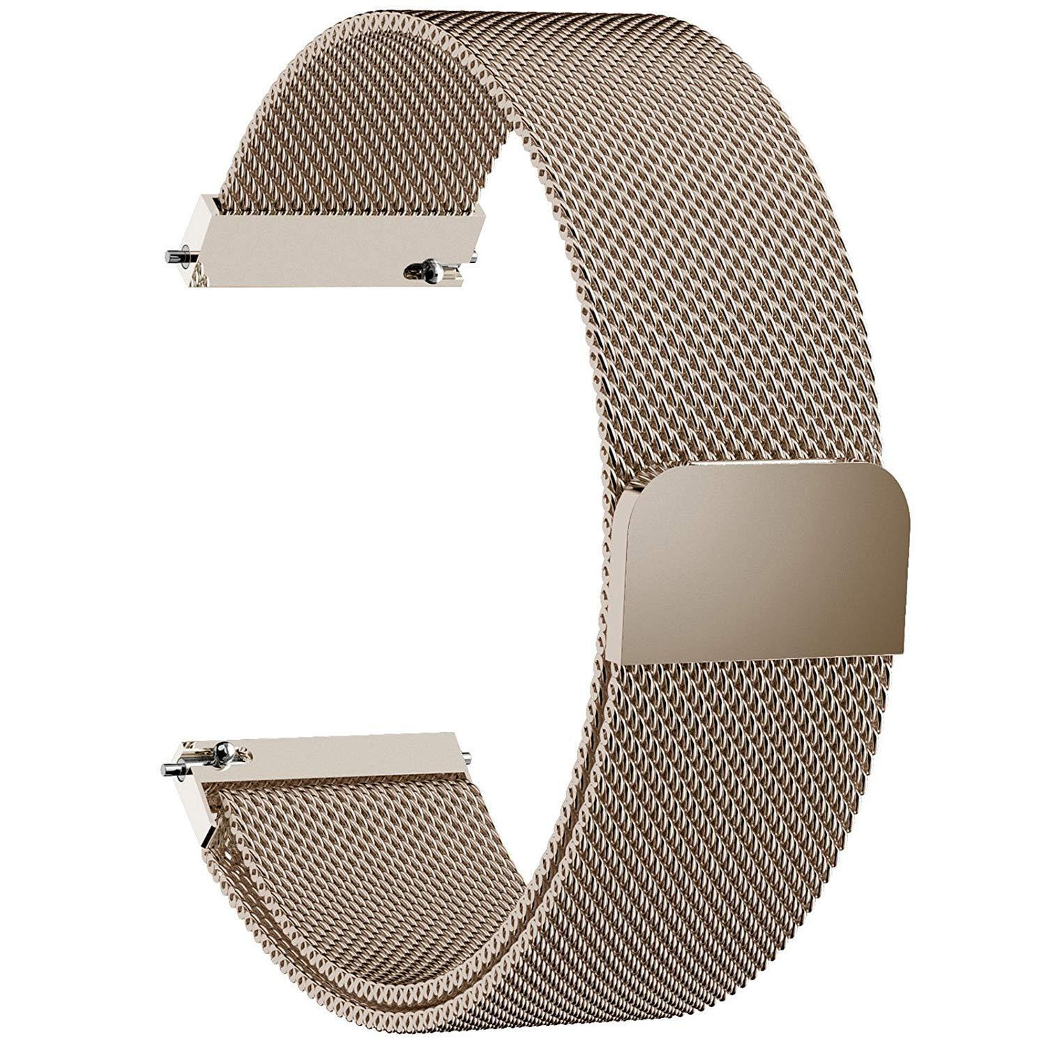 Smart Watch Band Milanese Loop 22mm Watch Band Quick Release Compatible Gear S3 Jewelry & Watches