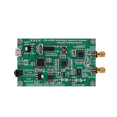 Spectrum Analyzer Wtracking Source Module Rf Frequency Domain Analysi Tool O1q9