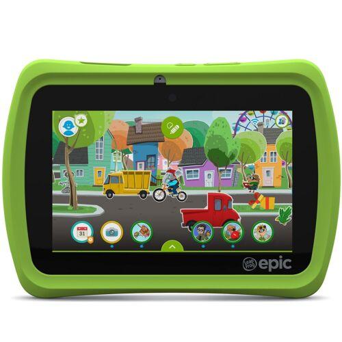 """LeapFrog Epic 7"""" Kids' Learning Tablet 16GB Black/Green 31576"""