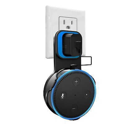 Outlet Wall Mount Hanger Holder Stand For All New Amazon Echo Dot 2Nd Generation