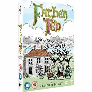 Father Ted - Complete Dvd Box Set New