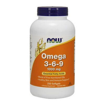 Now Foods Omega 3 6 9  1000 Mg  Fatty Acids For Cardio  Skin  Immune   Pick Size