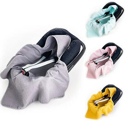 BABEES Einschlagdecke Babyschale Baby Decke Baumwolle Autositz SOMMERDECKE