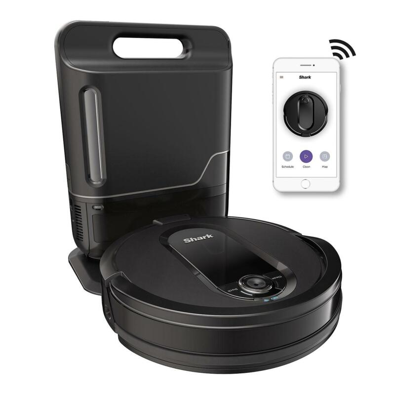 Shark UR1005AE IQ Robot Vacuum with Self-Empty Base, Wi-Fi, Home Mapping