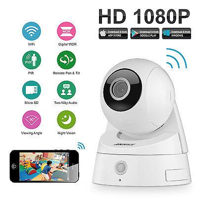 ANNKE 2.0MP 1080P HD PTZ WiFi Wireless System  IR IP Netwerk Kamera PIR Sensor