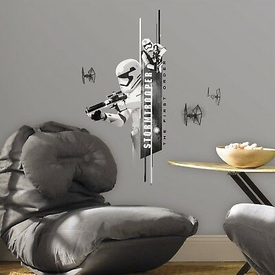 STAR WARS STORMTROOPER Wall Decals Bedroom Room Decor Stickers FORCE AWAKENS NEW](Star Wars Bedroom Decorations)