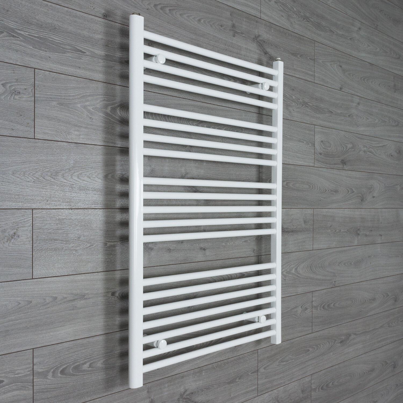 Towel Rail Rad Central Heating Bathroom Radiator White 800mm Wide x ...