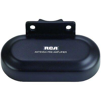 RCA Outdoor Antenna Preamplifier Pre Amplifier TV Range Rece