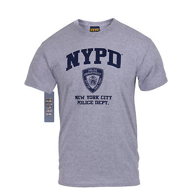 Nypd Physical Training T-shirt - NYPD Physical Training Officially Licensed T-Shirt