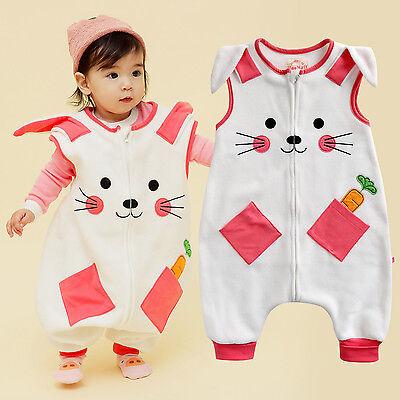 "Vaenait Baby Toddlers Kids Fleece Pajama Sleeping Blanket ""P"