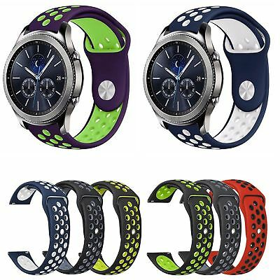 20mm Silicone Sports Strap for Samsung Gear Sport/ Gear S2 Classic Bracelet Band