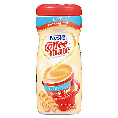 Coffee Mate Canister (Coffee-mate Powdered Original Lite Creamer 11 oz. Canister 12/Carton 74185CT )