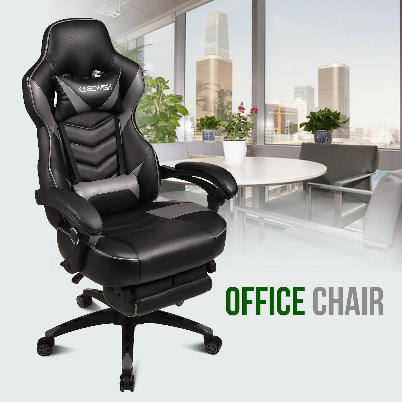 Ergonomic Office Chair PU Leather High Back Executive Comput